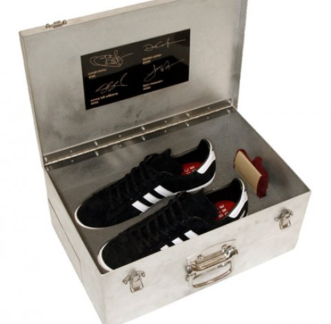Limitovaná edice tenisek adidas / Qubic / All Blacks (All Heroes)