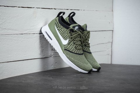 Nike Wmns Air Max Thea Ultra Flyknit Palm Green/ White-Black