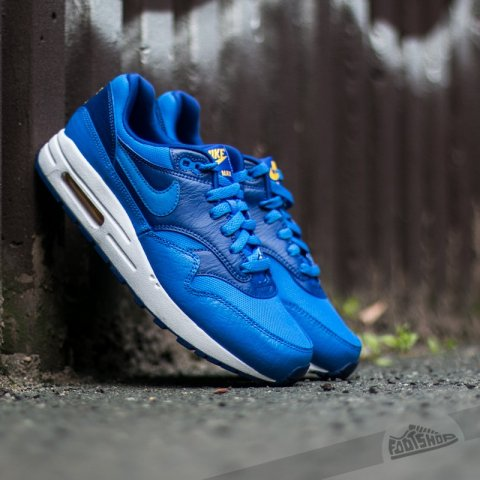 Nike Air Max 1 (GS) Hyper Cobalt/ Hyper Cobalt-Deep Royal Bllue